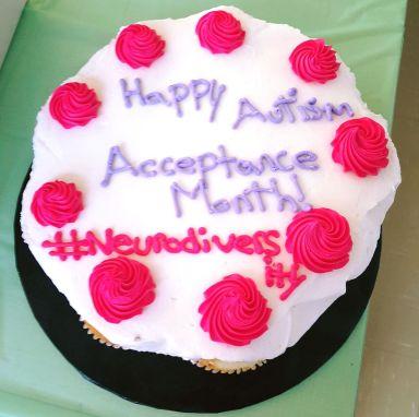 Autism Acceptance cake